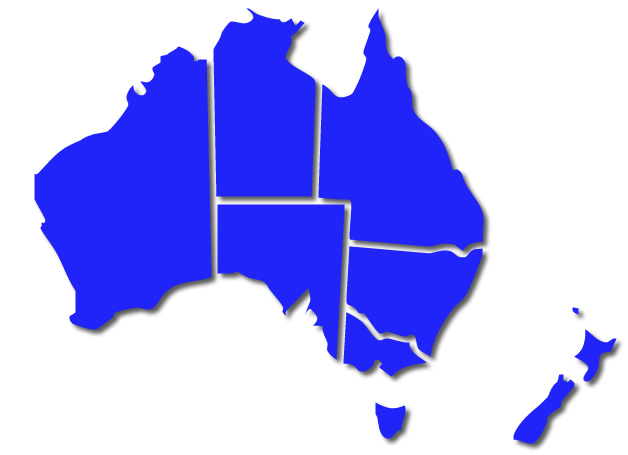Servicing Australia and New Zealand